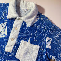 1960's Sea Island Mfg.Co. Pile Pullover S/S Shirt