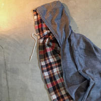 1960's Unknown Reversible Rayon Parka