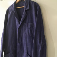 1950's〜 French Unknown Blue Chambray Atelier Coat