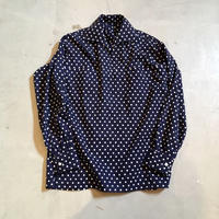1950〜60's Unknown Pullover Dots L/S Shirt