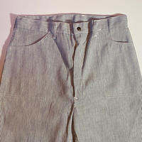 1960〜70's Unknown Hickory Trousers Deadstock
