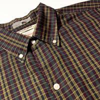 1960's Gentree Ltd. Indian Madras S/S Shirt