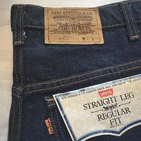 1980's Levi's 509 Denim Pants Deadstock
