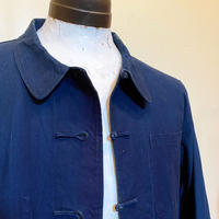 1960's L'Anti-Cher Indigo China Jacket