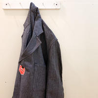 1950's KONECO Black Chambray  Atelier Coat Deadstock