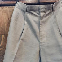 1950〜60's Unknown  Tuck Trousers
