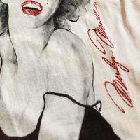 1990's DIAMOND DUST Marilyn Monroe Printed Tee