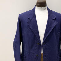 1950's French Unknown Cotton Work Jacket