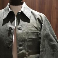1950's〜 BMZ Green Chambray Work Jacket Deadstock