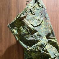 1990〜00's Russian Military Digital Flora Camo Trousers Deadstock
