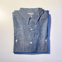 1950's〜 WHIPPET Chambray S/S Shirt Deadstock