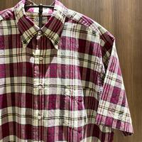 1960's Stulmaker's Indian Madras S/S Shirt