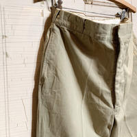1960's US.ARMY Chino Trousers