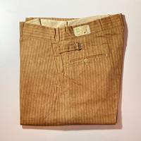 1930〜40's DEER CREEK Cotton Trousers Deadstock