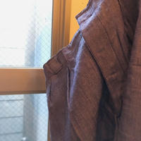 1960's French Navy Linen Short Pants Deadstock