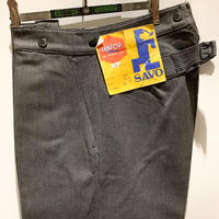 1940's〜 SAVO Gray Pipue Trousers Deadstock