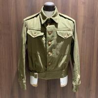 1940's British Army Green Denim Jacket Deadstock