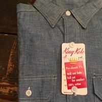 1960's King Kole Chambray L/S Shirt Deadstock