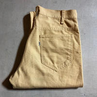1960's Levi's 518 Canvas Tapered Pants