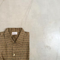 1960's THE WOOL SHOP S/S Shirt Deadstock