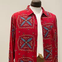 1950's PILGRIM Rayon L/S Shirt
