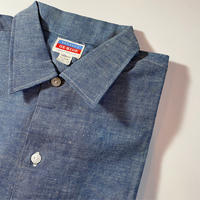1950's〜 OX-HIDE Chambray S/S Shirt Deadstock