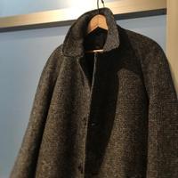 1950〜60's T.I.Swanty&Sons×Harris Tweed Wool Coat