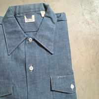 1960〜70's Lee Chambray L/S Shirt Deadstock