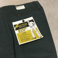 1960〜70's WASHINGTON DEE CEE Cotton&Polyester Trousers Deadstock