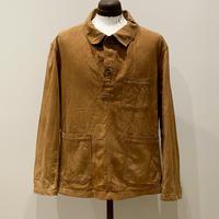1900〜10's US.ARMY Brown Denim Pullover Jacket