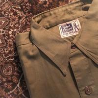 1940's〜 John strong L/S Shirt Deadstock