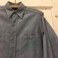 1950's US.NAVY Chambray L/S Shirt