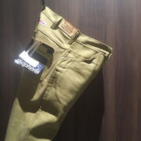 1960's Stephens Brown Denim Tapered Pants Deadstock