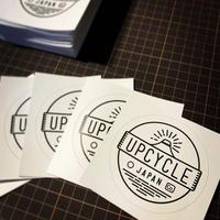 UPCYCLE JAPANステッカー