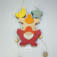 サンタのプレゼント(ウサギ)(20101603)