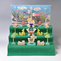 KK225 二童子三段飾り(特製垂幕・菖蒲)