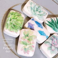 Decoration hand soap 多肉植物