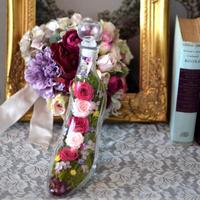 """新作 花ギフト   """"ガラスの靴"""" Cinderella Flower order #1051"""