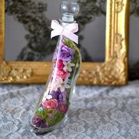 新作 花ギフト ガラスの靴 アーティフィシャルタイプ