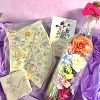 "SPECIAL GIFT BOX"" bottle flower"""