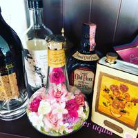 花ギフト  ココロハナ order whisky bottle WILLETT