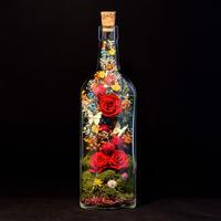 花ギフト ココロハナ poetry whisky bottle