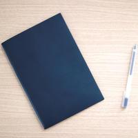 裏紙ノート - Lサイズ(ネイビー)