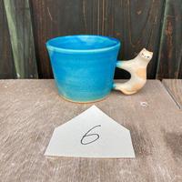 足田メロウ 猫のマグカップ#6