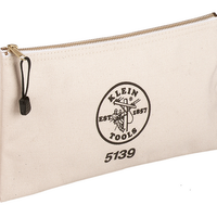 KLEIN TOOLS CANVAS ZIPPER BAG(小)