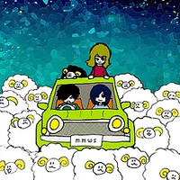meh meh white sheeps - SUPER ROAD MOVIE