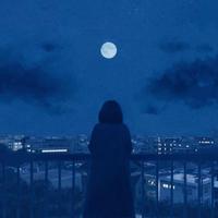 allicholy - blue moon