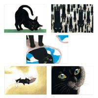 坂本千明「ぼくはいしころ」ポストカード 5枚組