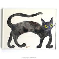 たんじあきこ 作品「もてあましてる黒猫」