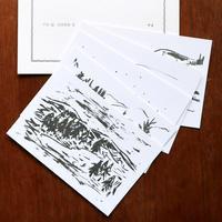 平岡瞳 絵葉書集 II「やま」